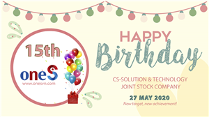 CS-Solution .JSC turned to 15 years old in May 27, 2020