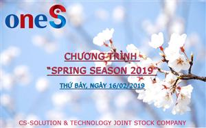 """Chương trình """"Spring Season 2019"""" của Công ty cổ phần giải pháp công nghệ CS-Solution"""